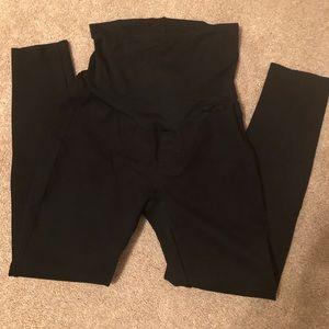 Gap maternity leggings black  XS